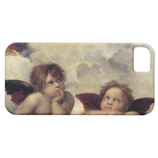 Cas des anges de Raphael iPhone SE/5/5s Case
