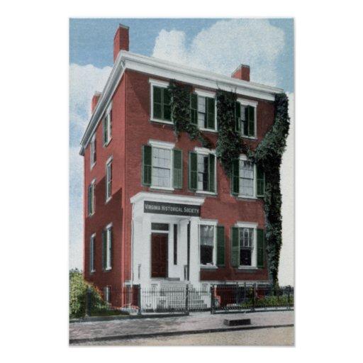 Casa 7ma Franklin de Richmond Virginia Lee Poster