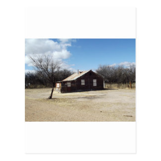 Casa abandonada del fantasma tarjeta postal