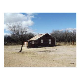 Casa abandonada del fantasma tarjetas postales
