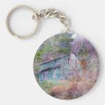 Casa abandonada llavero personalizado