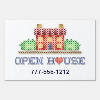 Casa abierta cartel