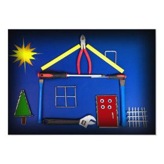 """Casa abierta - nueva construcción invitación 5"""" x 7"""""""