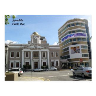 Casa Alcaldia Aguadilla Postcard