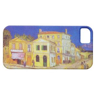 Casa amarilla de Van Gogh iPhone 5 Carcasa