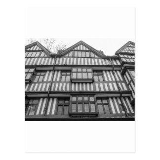 Casa antigua de Tudor en Londres Postales