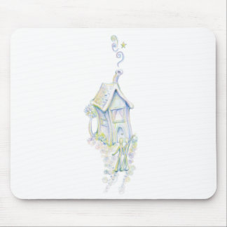 Casa armoniosa alfombrilla de raton