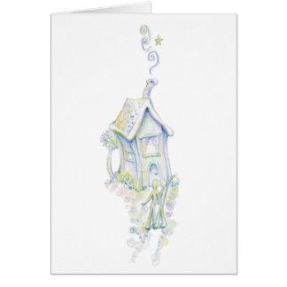 Casa armoniosa tarjeta de felicitación
