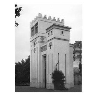 Casa asiria, exposición universal, París Postales