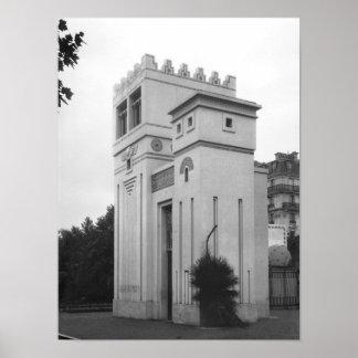 Casa asiria, exposición universal, París Póster