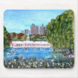 Casa barco del Central Park Tapete De Ratón
