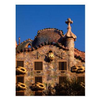 Casa Batilo, Gaudi Architecture, Barcelona, Post Cards