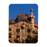 Casa Batilo, Gaudi Architecture, Barcelona, Rectangular Photo Magnet