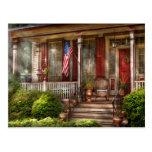 Casa - Belvidere, NJ - un hogar americano clásico Tarjetas Postales