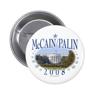 Casa Blanca 2008 de McCain Palin Pin
