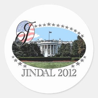 Casa Blanca 2012 de Jindal Etiqueta Redonda