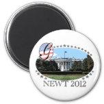 Casa Blanca 2012 del Newt Imán De Nevera
