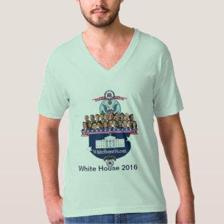 Casa Blanca 2016 camisetas con cuello de pico Playera