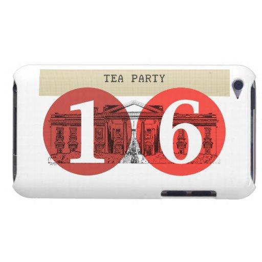 Casa Blanca 2016 de la fiesta del té iPod Touch Case-Mate Funda