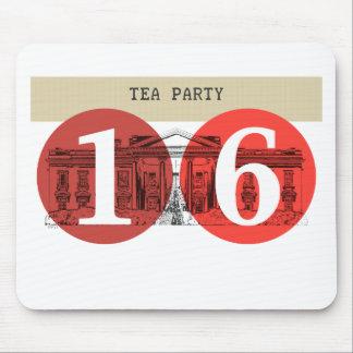 Casa Blanca 2016 de la fiesta del té Mousepad