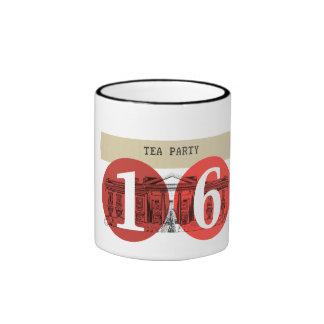 Casa Blanca 2016 de la fiesta del té Taza De Dos Colores