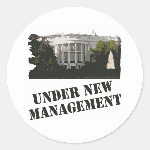 Casa Blanca: Bajo nueva gestión Pegatina Redonda