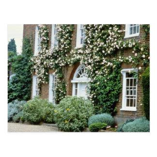 casa blanca de la reina Anne con subir Cecile subi Postales