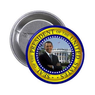 Casa Blanca de Obama - botón presidencial del sell Pins