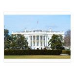 Casa Blanca del césped Postal