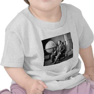 Casa Blanca del vintage de presidente Teddy Roosev Camiseta