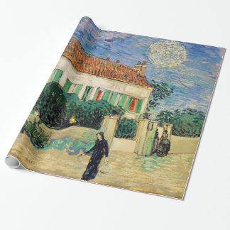 Casa Blanca en la noche de Vincent van Gogh