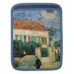 Casa Blanca en la noche - Van Gogh (1890) Funda Para iPads