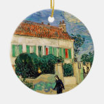 Casa Blanca en la noche - Van Gogh (1890) Ornatos