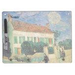 Casa Blanca en la noche - Van Gogh (1890) Tablero Blanco