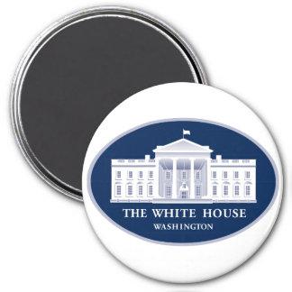 Casa Blanca Imán Redondo 7 Cm