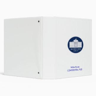 Casa Blanca que informa la carpeta