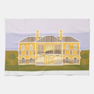 Casa caliente de la mansión toallas de cocina