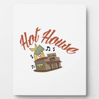Casa caliente placa de madera