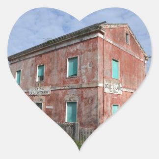 Casa Cantoniera Heart Sticker