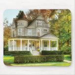 Casa - casa ideal del Victorian Tapetes De Ratón