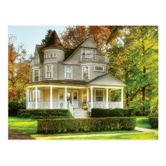 Casa - casa ideal del Victorian Tarjetas Postales