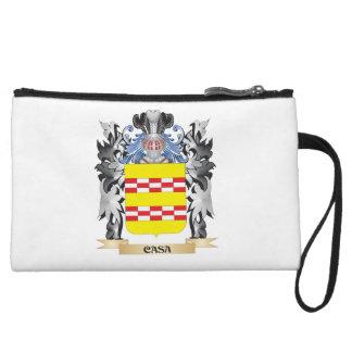 Casa Coat of Arms - Family Crest Wristlet Purses