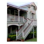 Casa colonial en la postal de Australia