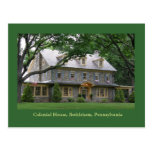 Casa colonial postal