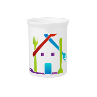 Casa con las bifurcaciones y las cucharas jarrón