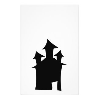 Casa con tres torres tarjetas publicitarias