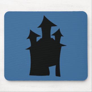 Casa con tres torres alfombrilla de ratones