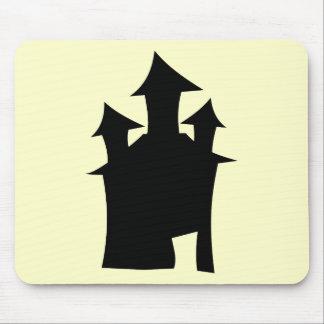 Casa con tres torres tapete de raton