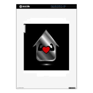 Casa con un corazón sano calcomanías para iPad 2