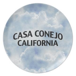 Casa Conejo California Dinner Plate